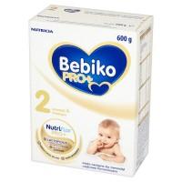 Bebiko Pro+ 2 Mleko następne częściowo fermentowane dla niemowląt powyżej 6 miesiąca życia 600g