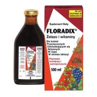 Floradix Żelazo i witaminy 500ml